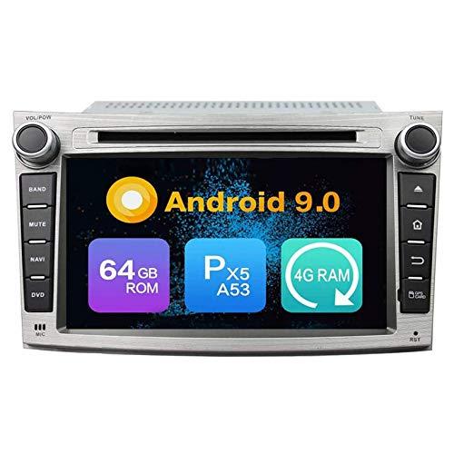 WHL.HH para Legado Androide Auto Radio DVD Multimedia Jugador GPS Navegación IPS HD Tocar Pantalla Navegación por satélite Cabeza Unidad Apoyo SWC Bluetooth Video Receptor,PX6 4+64+DSP
