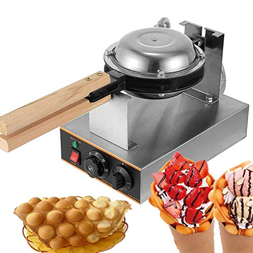 %23 OFF! Hong Kong Egg Waffle Maker, Professional Rotated Nonstick Egg Cake Oven Stainless Steel Ele...