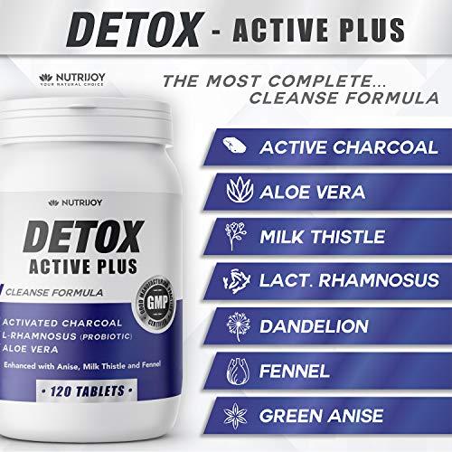 Detox Carbone Attivo [ Formula AGGIORNATA ] Drenante Forte Dimagrante Carbone Vegetale | Dimagrire Velocemente | Dimagrante Forte Pancia Piatta | Brucia Grassi Potenti Veloci