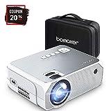 Projecteur BOMAKER 3600 Lumens Native 720p Mini Vidéoprojecteur Prise en Charge Full HD 1080p de 50000 Heures...