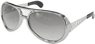 Elvis Sunglasses, Silver