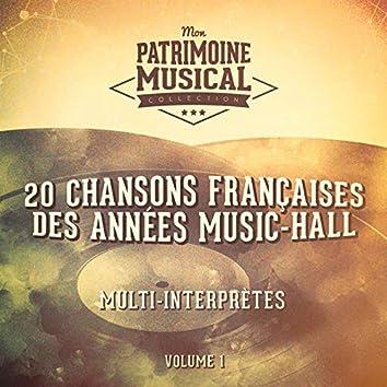 20 chansons françaises des années music-hall, vol. 1
