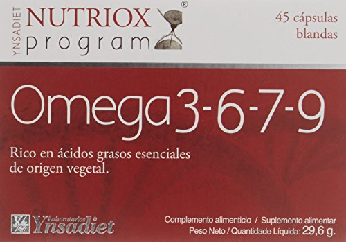 Nutriox Omega 3-6-7-9 - 45 Cápsulas