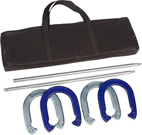 Trademark Innovations Pro Hufeisen Set–Pulver beschichtetem Stahl mit Tragetasche