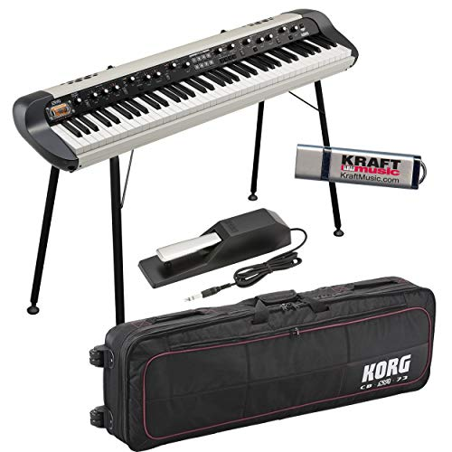 Review Korg SV-2S 73 Stage Vintage Piano with CBSV1 Case and STSV1 Stand