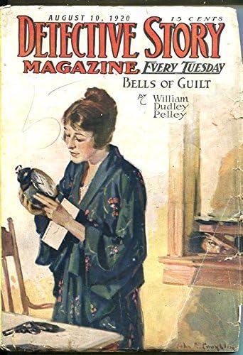 DETECTIVE STORY MAGAZINE-AUG 10 1920-PELLEY-BELLE Louisville-Jefferson County Mall STAR-PIERSON-g Very popular!
