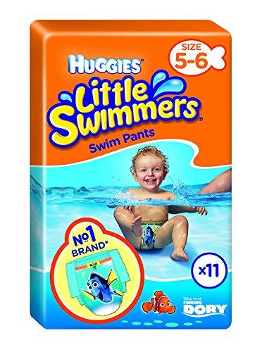 Huggies Little Swimmers - Juego de 11 cuencos (tamaño 5-6, 11 unidades)