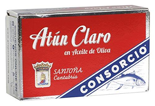 Consorcio Atún en Aceite - Paquete de 16 x 110 gr - Total: 1760 gr