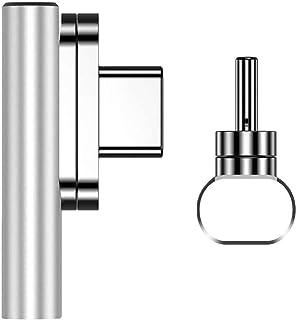 Adaptador magnético, Adaptador magnético USB, Adaptador Tipo C de 20 Pines, Compatible con Tipo C para Macbook Pro, DELL, ...