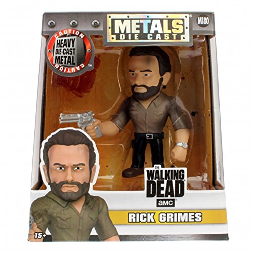 Jazwares 15236 – 97936 – Metal figs – The Walking Dead, Rick Grimes, Figura