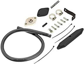 Exhaust Gas Re-circulation EGR Valve Cooler Delete Kit for 2011-2014 Ford F-250 350 450 550 Super Duty Truck 6.7L Powerstroke Diesel Engine