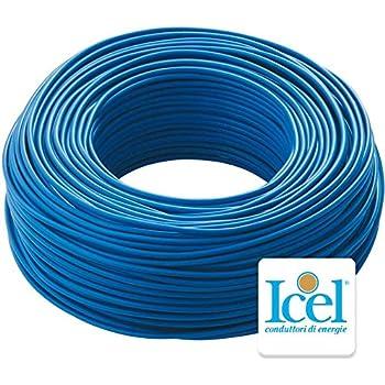 5m 1,5 mm/² grigio AUPROTEC Cavo unipolare 1,5 mm/² Filo elettrico ad anello