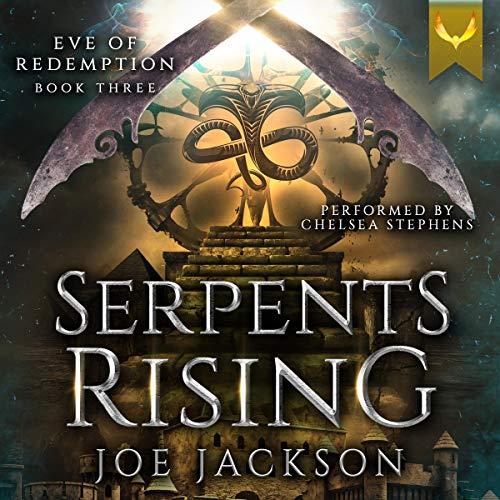 Serpent's Rising audiobook cover art