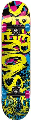 Speed Demon 11614114 Speed D Full 100 Logo Skateboard Complet Multicolore