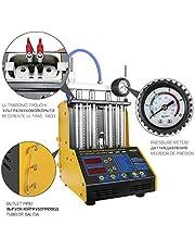 Autool 220V injectorenreiniger tester ultrasone benzine auto auto injectoren reiniger diesel injector tester benzine-gereedschap, 4 cilinders voor sommige motorfietsen