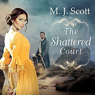 The Shattered Court audiobook cover art
