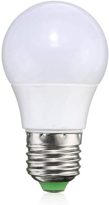 LED Max 54% OFF Universal trust Bulb 3W E27 Light Color RGB Dimmable Changing