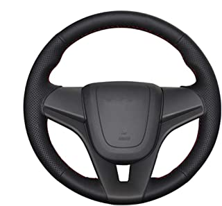 LUVCARPB Car Steering Wheel Cover,Fit for Chevrolet Cruze 2009-2014 Aveo 2011-2014,Fit for Holden Cruze 2010