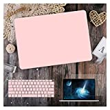 GYY para MacBook Air 11 12 13.3'Cubierta Clara De Cristal para MacBook Air Pro 13 15 16 Touch Barra/Touch ID A2289 A2338 M1 A2159 (Color : Matte Baby Pink, Size : Old air13 A1466 2017)