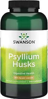 Sponsored Ad - Swanson Psyllium Husk Digestive Weight Colon Health Dietary Fiber Supplement 610 mg 300 Capsules (Caps)