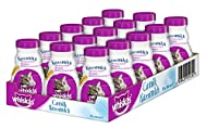 Whiskas Cat Milk for Cats from 6 weeks - Delicious Snack for a Happy Cat - Lactose-free and Easily D...