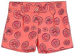 Aristot Girls Fruit Print Shorts