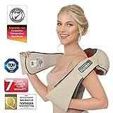 Appareil de massage Donnerberg avec la fonction chauffante pour les douleurs cervicales- Rélaxation...