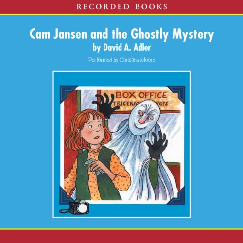 Cam Jansen: The Ghostly Mystery #16 audiobook cover art