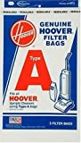 hoover 4010001a - Hoover 4010001A Type A Vacuum Bags, 6 Bags