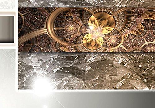 Bilder 200×100 cm – 3 Farben zur Auswahl ! XXL Format! Fertig Aufgespannt TOP Vlies Leinwand – 5 Teilig – Buddha Wand Bild Bilder Kunstdrucke Wandbild 020113-289 200×100 cm B&D XXL - 4