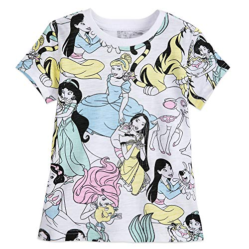 Disney Princess and Friends - Camiseta para niña