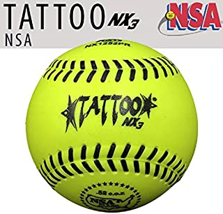 1dz AD Starr NX1252PR NSA 12 英寸垒球 52 COR / 275 LBS 一体式聚氨酯保护壳