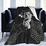 Kingam Sherpa Decke Wohndecken Kuscheldecken Harry Styles 3 ultraweiche Fleecedecke Flanell Samt Plüschdecke 152,4 x 127 cm
