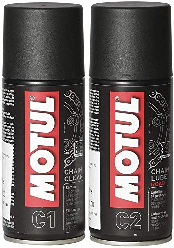 Technolube Motul Chain Clean and Lube Combo (150ml)