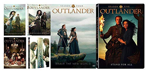 Outlander: The Complete Series Season 1-5 DVD (25 - Disc Set)