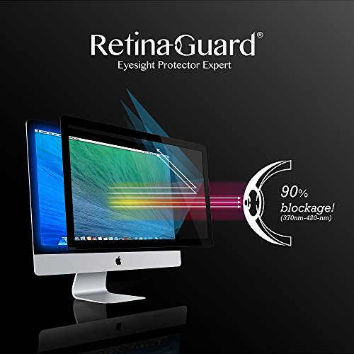 Find Bargain RetinaGuard iMac 21.5 Inch Anti Blue Light Screen Protector, SGS and Intertek Tested, B...