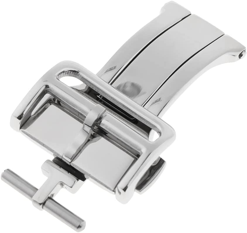ZHHENG PO811 Stainless Steel Push 25% OFF Clasp 70% OFF Outlet Fold Deployment Ba Watch
