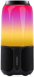 Xiaomi Velev V03 RGB Speaker BT Wireless Stereo Soundbox LED Lamp Colorful Night Light Smart Music Player Audio Portable Loudspeaker USB Rechargeable 5200mAh
