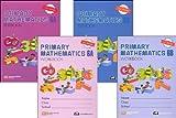 Primary Mathematics Grade 6 SET--Textbooks 6A and 6B, Workbooks 6A and 6B