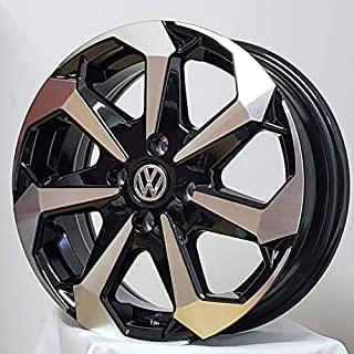 Rodas Tarantula Aro 15 Volkswagen Voyage Gol Up (jogo) +bicos