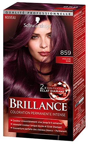 Schwarzkopf - Brillance - Coloration Cheveux Permanente Intense - Violine Soie 859