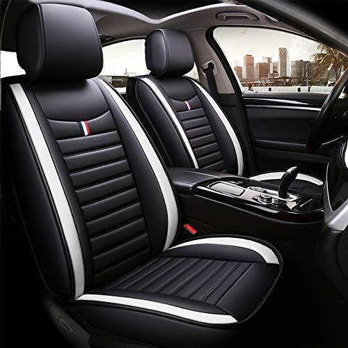 Chemu Juego de fundas de asiento de piel sintética para Audi X6 A3 A4 A5 A6 Q3 Q5 8P 8V 8L 99% tipo
