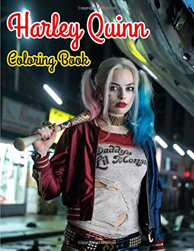 51KjcfPQajL Harley Quinn Coloring Books