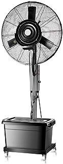 Humidificador regulable en altura área de trabajo brumosa del ventilador ventilador de pie ventilador de pie portátil tanque de agua industrial muda de alta velocidad del ventilador del aire acondicio