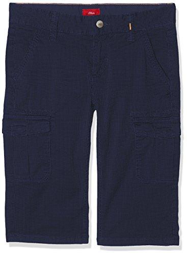s.Oliver Jungen 61.804.76.4967 Shorts, Blau (Blue Multicolored Stripes 58s5), 164 (Herstellergröße: 164/SLIM)