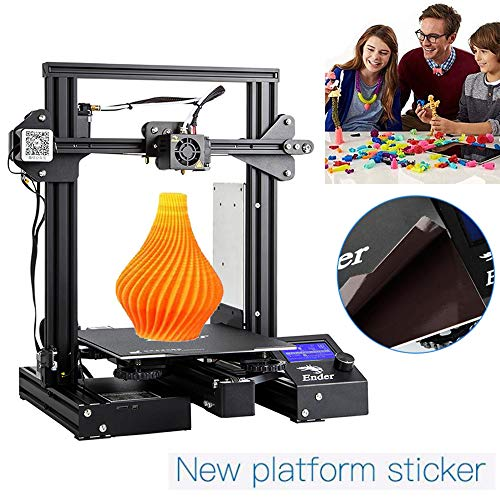 Creality Ender 3 Pro 3D Printer DIY Prusa I3 Creative Upgraded UL Power Supply and Resume Printing 220x220x250 mm for Hobbyists and Home users (Ender 3 Pro)