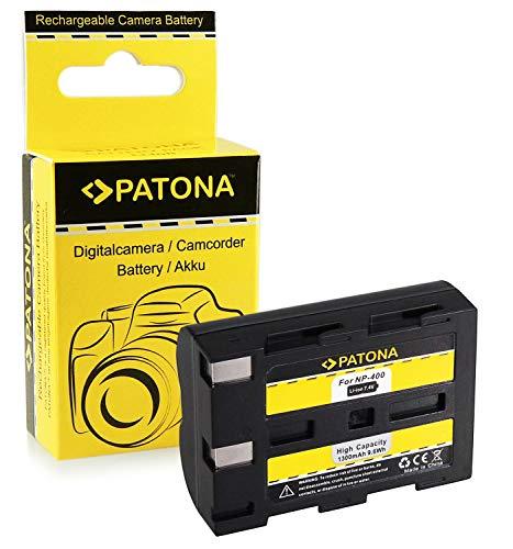 PATONA Akku NP-400 kompatibel mit Minolta Dimage A1 A2 Dynax 5D 7D, in zuverlässiger und geprüfter Qualität