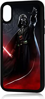 (for iPhone Xs MAX) Durable Protective Soft Back Case Phone Cover - A11432 Starwars Darth Vader 11432