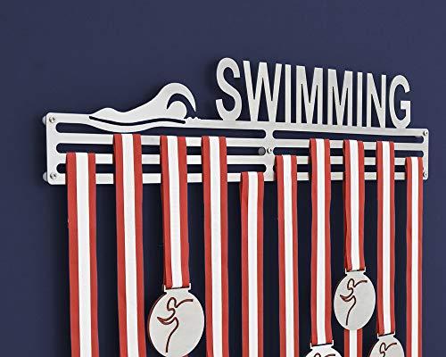 Medaille Aufhänger Halter Display Rack – Schwimmen Medaille Display (450 mm) …