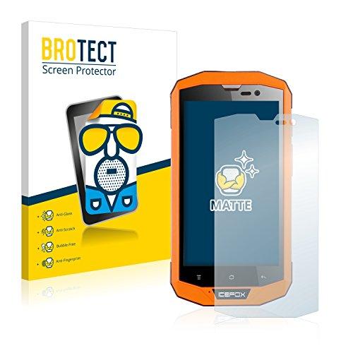 BROTECT 2X Entspiegelungs-Schutzfolie kompatibel mit Icefox Hero Plus Displayschutz-Folie Matt, Anti-Reflex, Anti-Fingerprint